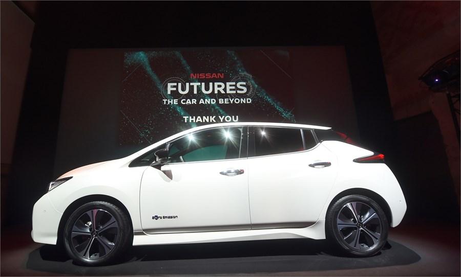 """""""Nissan Futures 3.0"""" pasākumā Nissan prezentē elektrisko ekosistēmu"""