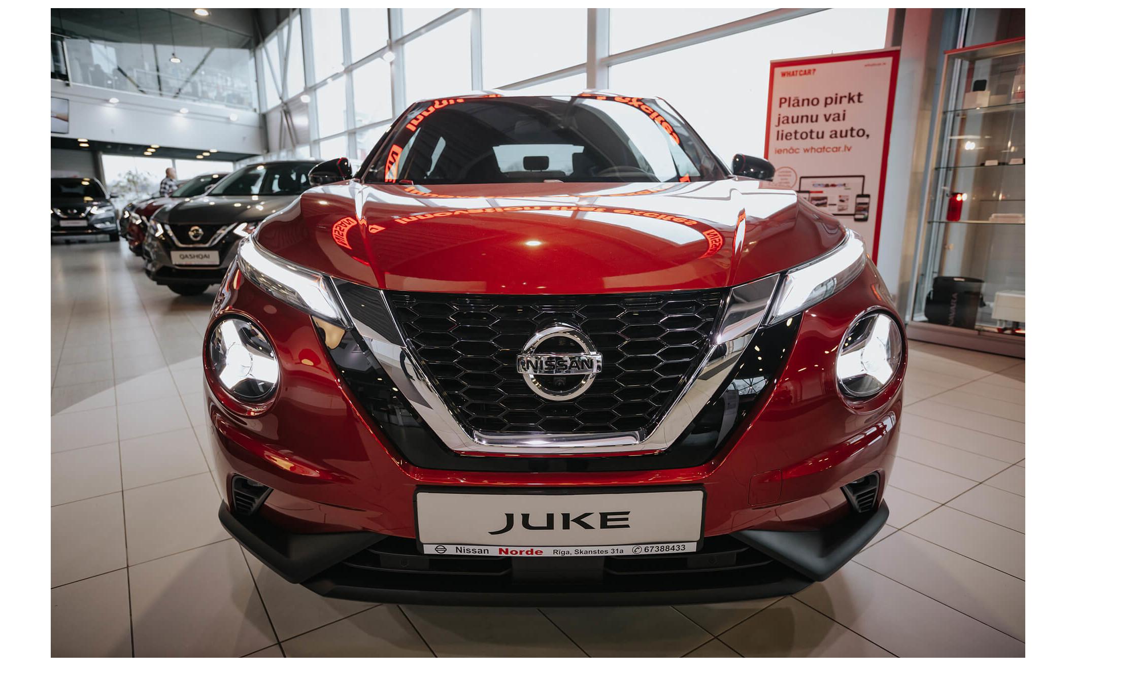 Nissan Juke: vērtē Whatcar.lv lasītāji